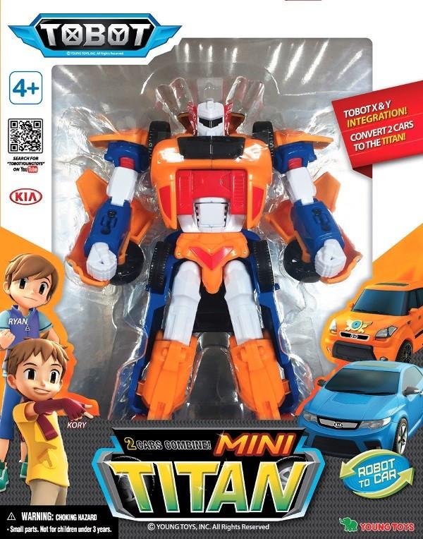 Робот-трансформер  Мини Тобот Титан