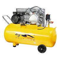 Компрессор воздушный 370 литров в минуту 2,2 кВт, 370 л/мин, 100 литров DENZEL, 58091
