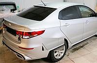 Козырек на заднее стекло Kia Rio вариант 2
