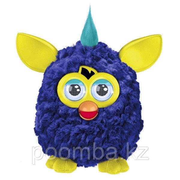 Furby - Ферби - Интерактивный Furby (Фёрби)  синий с желтыми ушами