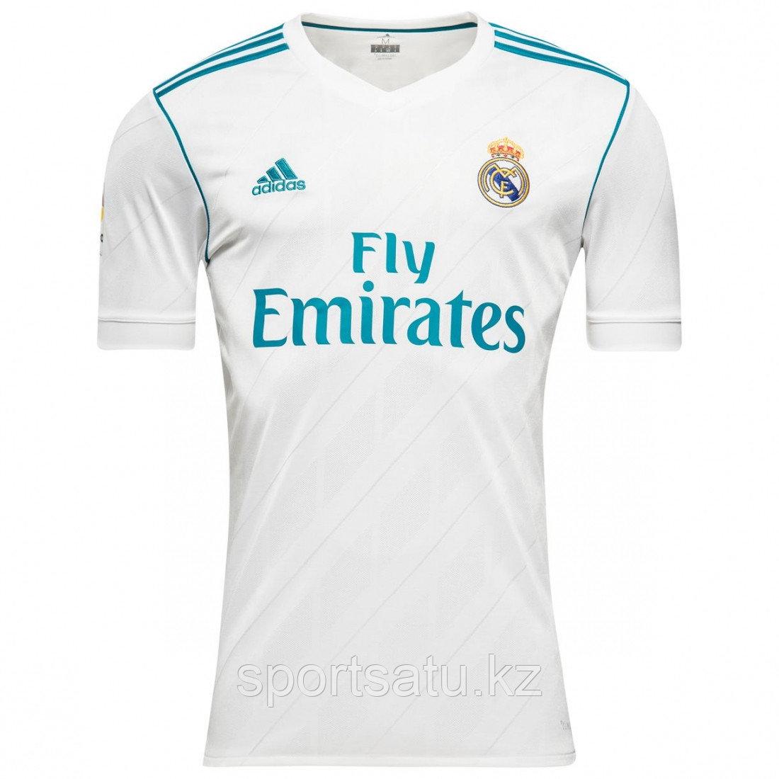 Футболка Реал Мадрид сезона 2017-18 домашняя