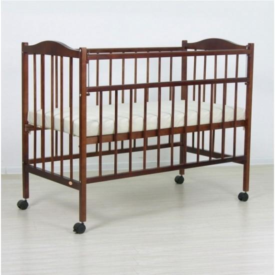 """Кровать детская Фея """"203"""", (орех), состав - дерево (береза), колёса"""