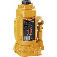 Домкрат гидравлический бутылочный, 10 т, h подъема 200-385 мм SPARTA 50325