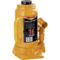 Домкрат гидравлический бутылочный, 16 т, h подъема 220-420 мм SPARTA 50327
