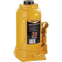 Домкрат гидравлический бутылочный, 20 т, h подъема 250-470 мм SPARTA 50328