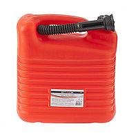 Канистра для ГСМ, из пластика, 10 литров, для бензина и дизеля, STELS, 53122
