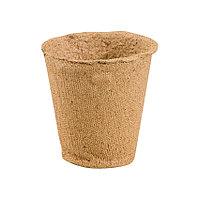 Торфяной горшочек для рассады, 110*100 мм, круглый, 64351