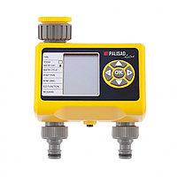 Таймер для полива, механизм на 2 линии, электронный, PALISAD LUXE, 66199