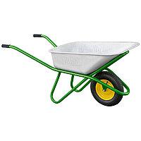 Тачка садово-строительная, усиленная, грузоподъемность 200 кг, объем 90 л// PALISAD