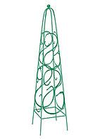 Садовая пирамида декоративная для вьющихся растений, 112,5 х 23 см, квадратная, PALISAD, 69126
