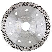 Диск алмазный ф115х22,2мм, тонкий, сплошной (Jaguar), мокрое резание // GROSS