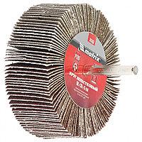 Круг лепестковый для дрели, P 80,  80 х 30 х 6 мм// MATRIX