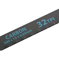 Полотна для ножовки по металлу, 300 мм, 32TPI, Carbon, 2 шт.// GROSS