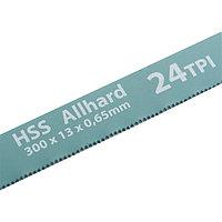 Полотна для ножовки по металлу, 300 мм, 24TPI, HSS, 2 шт.// GROSS
