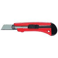 Нож, 18 мм, выдвижное лезвие, металлическая направляющая// MATRIX