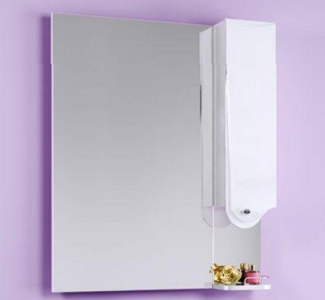 Зеркало Aqwella Таvrus 80 с шкафчиком