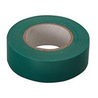 Изолента ПВХ, 15 мм х 10 м, 130 мкм, зеленая // СИБРТЕХ