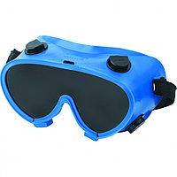 Очки закрытого типа защитные для газосварщика, с непрямой вентиляцией, из поликарбоната, СИБРТЕХ, 89149