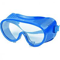 Очки защитные закрытого типа с прямой вентиляцией, материал из поликарбоната СИБРТЕХ 89161