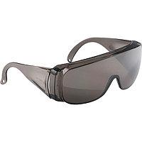 Очки открытого типа защитные, затемненные, ударопрочный из поликарбоната, СИБРТЕХ, 89156