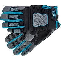 Перчатки DELUXE, универсальные комбинированные, для спорта и работы, размер XL, GROSS, 90334