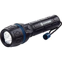 Фонарь светодиодный, 3 ярких светодиода,  ударопрочный корпус, влагозащищённый, 2хАА, Stern, 90511