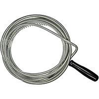 Трос для прочистки труб, L - 3 м, D - 6 мм// СИБРТЕХ