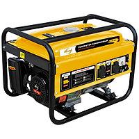 Генератор бензиновый 2,5 кВт, DENZEL, GE 2500, 220В/50Гц, 15 л, ручной старт, 94681
