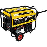 Генератор бензиновый 4,5 кВт, DENZEL, GE 4500Е, 220В/50Гц, 25 л, электростартер, 94683