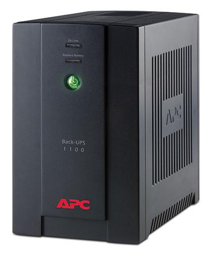 Источник бесперебойного питания UPS APC Back (BX1100CI-RS)