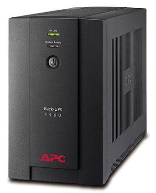 Источник бесперебойного питания UPS APC Back BX700UI,  390W, черный