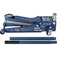 Домкрат гидравлический подкатной, низкий захват, быстр.подъем, 3 тонны, высота 75-515 мм, проф STELS 51136