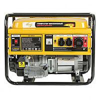 Генератор бензиновый 5,5 киловатт,  DENZEL, GE 6900, 220В/50Гц, 25 л, ручной старт, 94637
