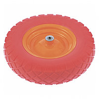 Колесо полиуретановое 4.80/4-8, длина оси 90мм, подшипник 20мм  // Palisad