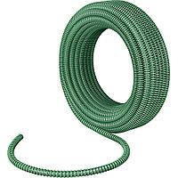 Спиральный шланг армированный напорно-всасывающий, диаметр 19 мм, 10 бар, 30 метров, Сибртех, 67330