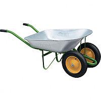 Тачка садовая двухколесная, грузоподъемность 170 кг, объем 78 л PALISAD 689223
