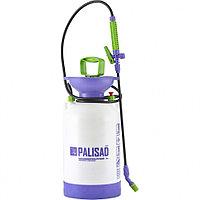 Ручной опрыскиватель усиленный с горловиной 5 литра, с насосом, шлангом, разбрызгиватель, PALISAD, 64745