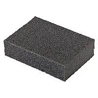 Губка для шлифования, 100 х 70 х 25 мм, мягкая, P40 // MATRIX
