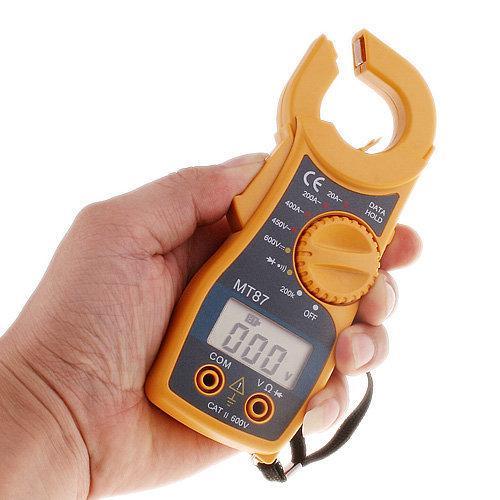 MT87, 400A AC ,токоизмерительные клещи, с функцией мультиметра