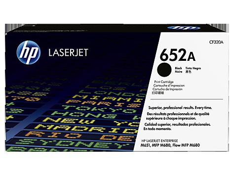 Лазерный картридж HP 652A (Оригинальный, Черный - Black) CF320A