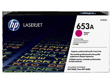 Лазерный картридж HP 653A (Оригинальный, Пурпурный - Magenta) CF323A