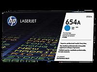 Лазерный картридж HP 654A (Оригинальный, Голубой - Cyan) CF331A