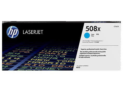 Лазерный картридж HP 508X (Оригинальный, Голубой - Cyan) CF361X