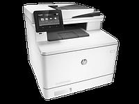 МФУ HP Color LaserJet Pro MFP M477fnw (Лазерный A4 Цветной USB Ethernet Wi-fi Планшетный) CF377A