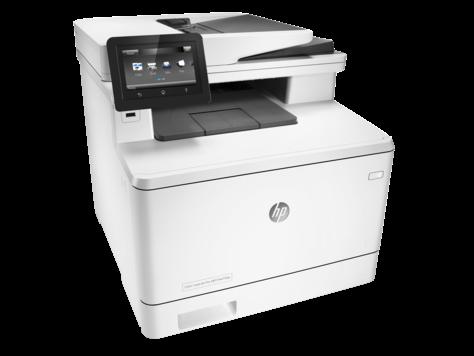 МФУ HP Color LaserJet Pro MFP M477fdn (Лазерный A4 Цветной USB Ethernet Протяжный) CF378A