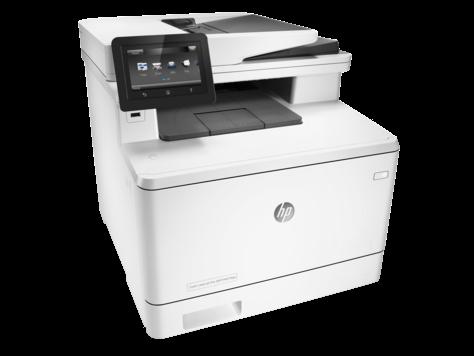 МФУ HP Color LaserJet Pro M477fdw (Лазерный A4 Цветной USB Ethernet Wi-fi Протяжный) CF379A