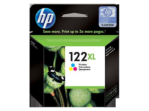 Струйный картридж HP 122XL (Оригинальный, Цветной) CH564HE