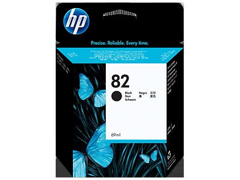 Струйный картридж HP 82 (Оригинальный, Черный - Black) CH565A