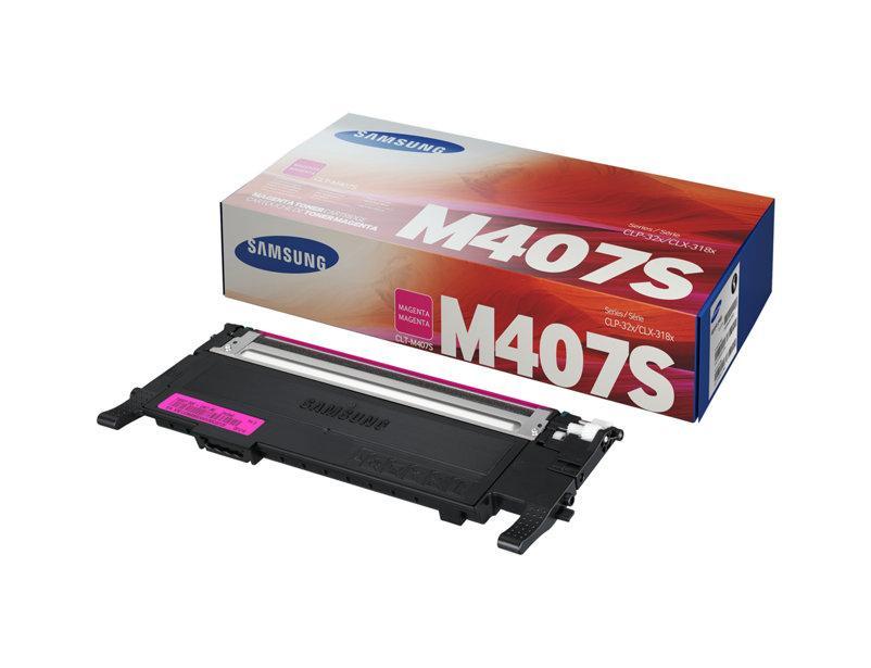 Лазерный картридж Samsung M407S (Оригинальный, Пурпурный - Magenta) CLT-M407S