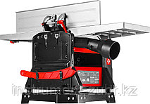 Станок фуговально-рейсмусовый, ширина строгания 254мм, толщина до 120мм, 2 ножа, 9000 об/мин,1600Вт, 6м/мин, фото 3